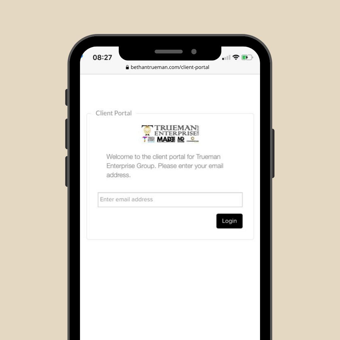 Bethan Trueman - Client Portal